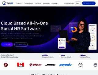 webhr.co screenshot