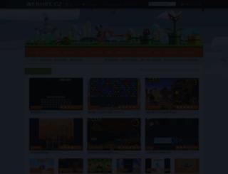 webhry.cz screenshot