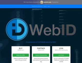 webid.com screenshot