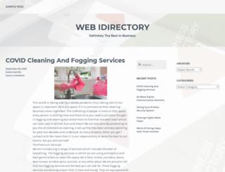 webidirectory.com screenshot