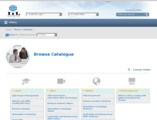 webinars.iil.com screenshot