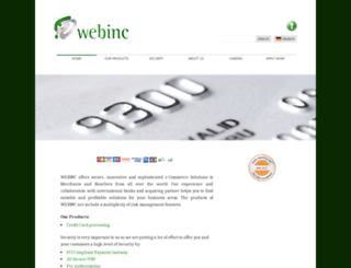 webinc.eu screenshot