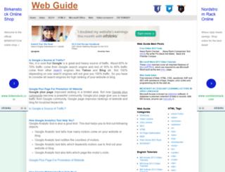 webindata.blogspot.fr screenshot