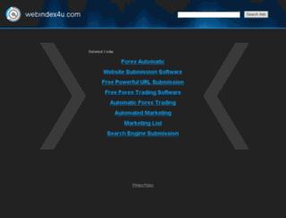 webindex4u.com screenshot