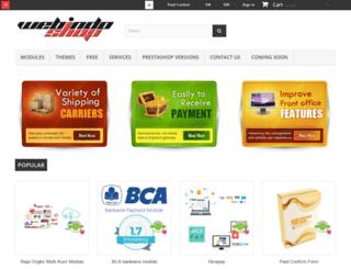 webindoshop.com screenshot