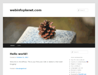 webinfoplanet.com screenshot