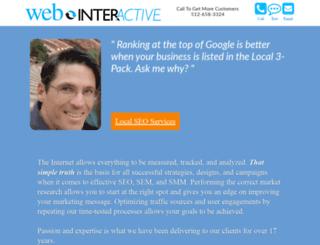 webinteractiveconsulting.com screenshot