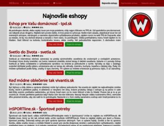 webiznis.eu screenshot