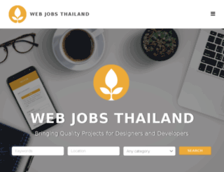 webjobsbangkok.com screenshot