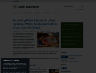 webjunction.org screenshot