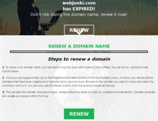 webjunki.com screenshot