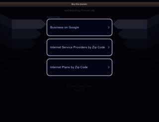 webkatalog-firmen.de screenshot