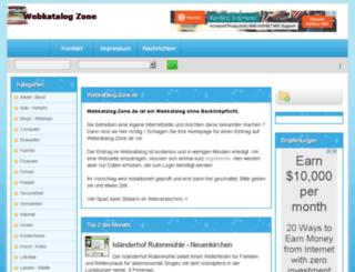 webkatalog-zone.de screenshot