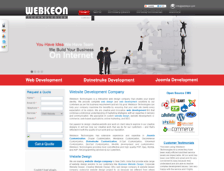 webkeon.com screenshot