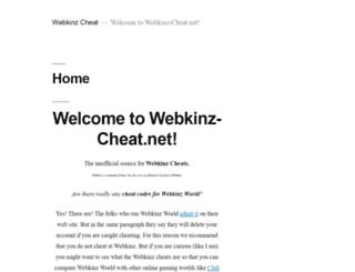 webkinz-cheat.net screenshot