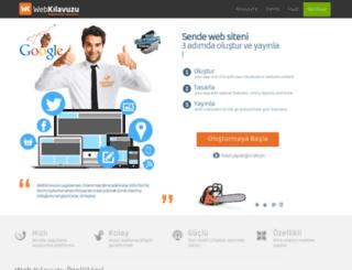 webklavuzu.com screenshot