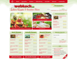 webkoch.de screenshot