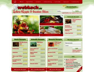 webkoch.de screenshot