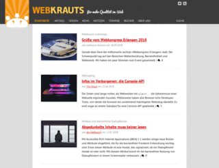webkrauts.de screenshot