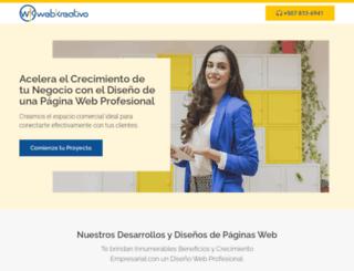 webkreativo.net screenshot