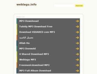 weblagu.info screenshot