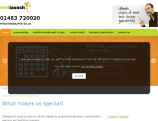weblaunch.co.uk screenshot