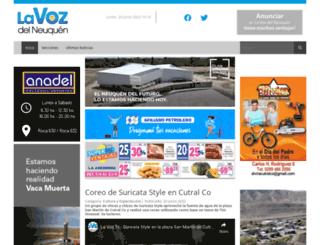 weblavoz.com.ar screenshot
