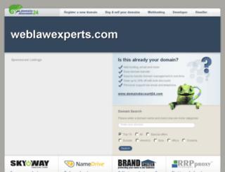 weblawexperts.com screenshot