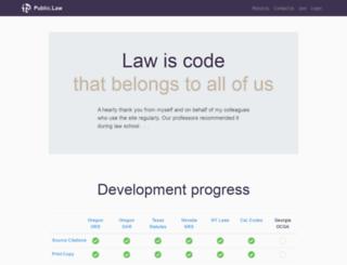 weblaws.org screenshot