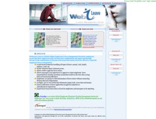 webleave.com screenshot