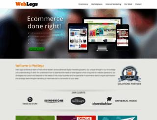weblegs.co.uk screenshot