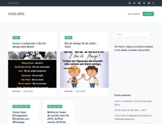 weblibre.com.br screenshot
