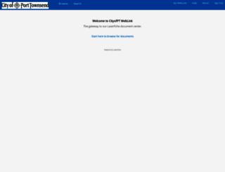 weblink.cityofpt.us screenshot