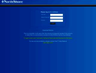 weblink.northshore.org screenshot