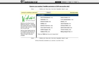 weblinks.newzealand.co.nz screenshot
