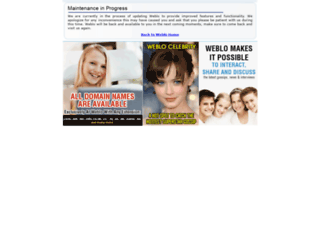 weblo.com screenshot