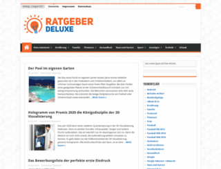 weblog-deluxe.de screenshot