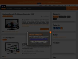 weblog.av-comparatives.info screenshot