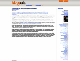 weblog.blogads.com screenshot