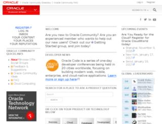 weblogs.java.net screenshot