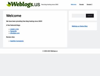 weblogs.us screenshot