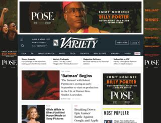 weblogs.variety.com screenshot