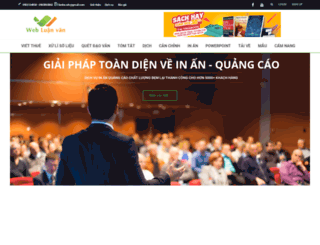 webluanvan.com screenshot