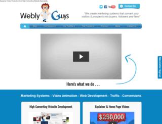 weblyguys.com screenshot