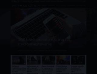 webmagazin.teraz.sk screenshot
