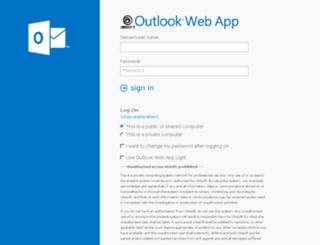webmail-apac.ubisoft.com screenshot
