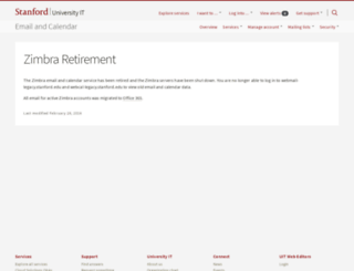 webmail-legacy.stanford.edu screenshot