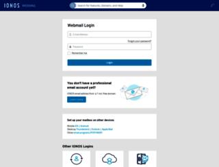 webmail.1and1.co.uk screenshot
