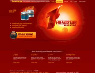 webmail.1freehosting.com screenshot