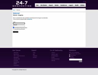 webmail.24-7webhosting.com screenshot
